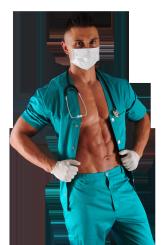 Doktor striptiz na panieński