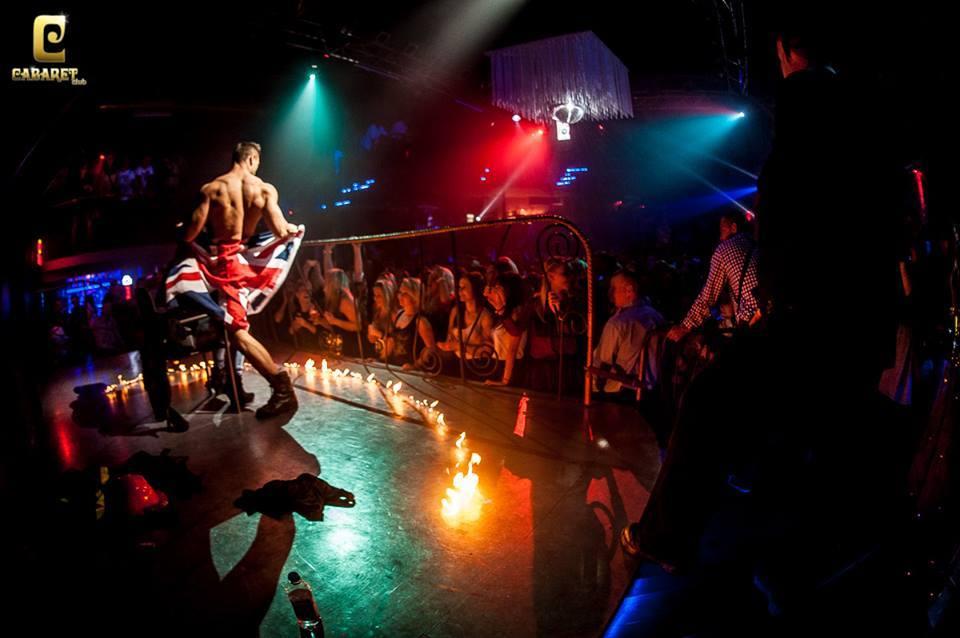 Tancerz striptease club