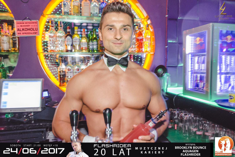 Profesjonalny barman topless do wynajęcia